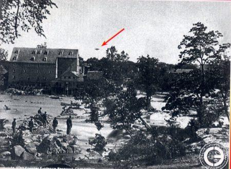 APPOMATTOX 1865 UFO IN PIENA GUERRA DI SECESSIONE