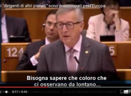 ALIENI PREOCCUPATI PER LA SITUAZIONE EUROPEA