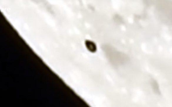 ASTRONOMO AVVISTA UFO SULLA LUNA 24 SETTEMBRE 2018