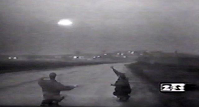 ATTERRAGGIO UFO IN RUSSIA OTTOBRE 1995 foto 1
