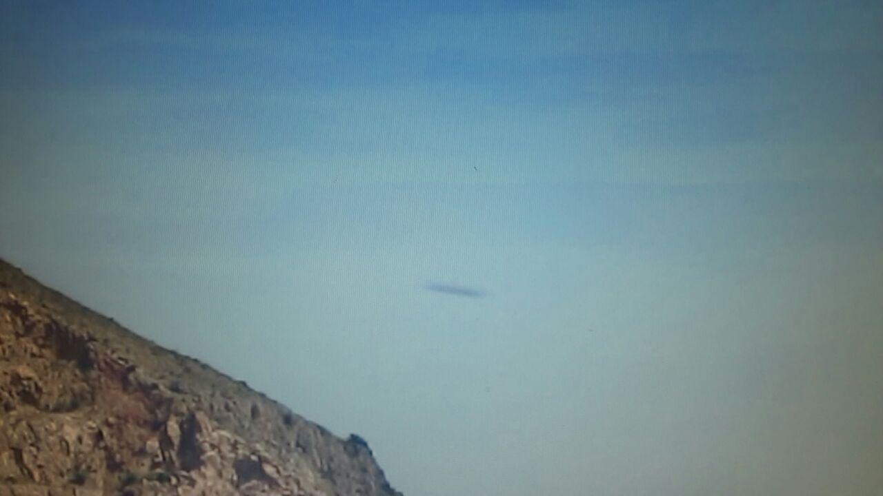 AVVISTAMENTO UFO A PALERMO IL 23 APRILE 2015 ore 11,35 foto 1
