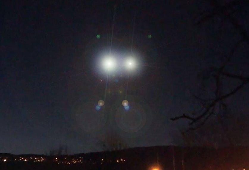 BRÜGG BELGIO UFO RIPRESO 14 MARZO 2018 foto 1