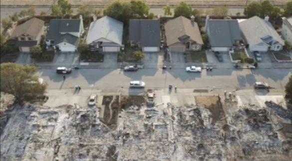 CALIFORNIA STRANE ANOMALIE NEGLI ULTIMI INCENDI