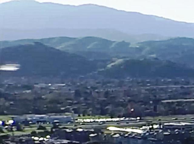 DRONE RIPRENDE UFO IN CALIFORNIA 08 MARZO 2015 silicon valley foto 3
