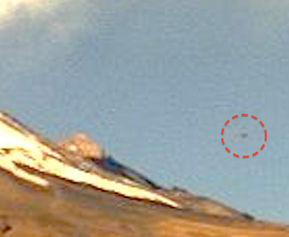 UFO SUL VULCANO POPOCATEPETL 18 DICEMBRE 2013