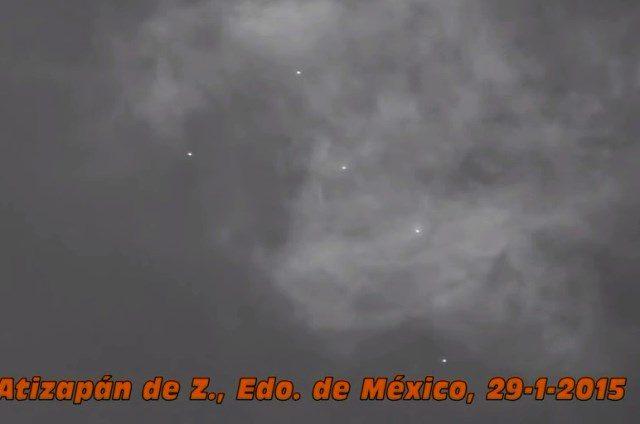 FLOTTILLAS U.F.O. A CITTA' DEL MESSICO 29 GENNAIO 2015