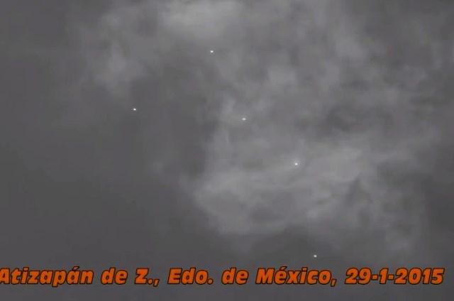 FLOTTILLAS U.F.O. A CITTA' DEL MESSICO 29 GENNAIO 2015 foto 2