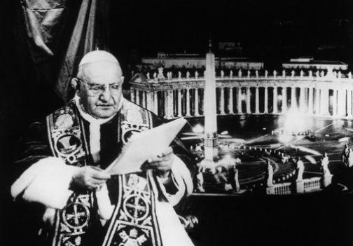 GIOVANNI XXIII E IL SUO I.R.3 A CASTEL GANDOLFO GIOVANNI PAOLO XXIII
