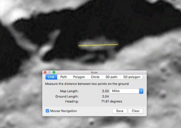 GOOGLE MOON SCOPRE UFO SULLA LUNA