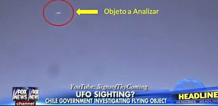 GOVERNO CILE AMMETTE AVVISTAMENTO UFO DEL 2013