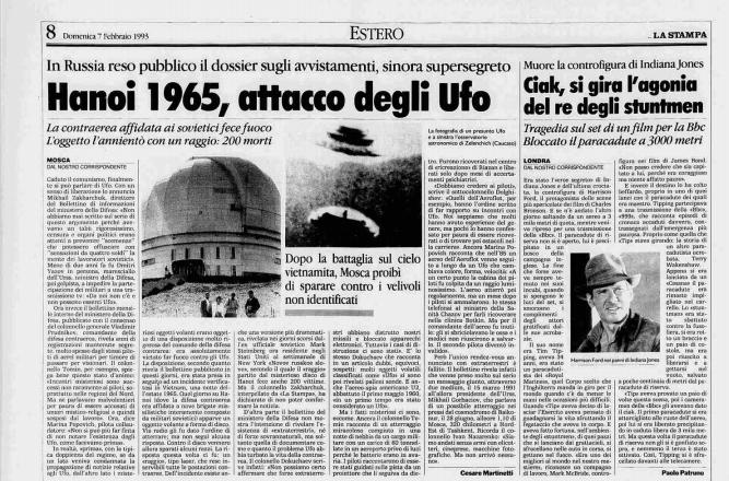 HANOI ESTATE 1965 ATTACCO UFO