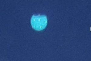 LAMEZIA TERME UFO FOTOGRAFATO 19 MAGGIO 2017
