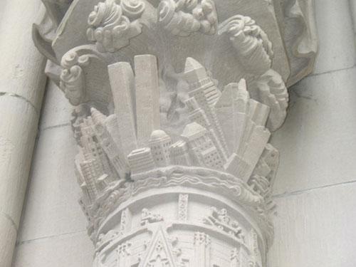 LA CATTEDRALE DI S. JOHN UN MISTERO IN COSTRUZIONE foto 1 caduta del W.T.C.