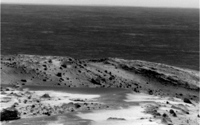 MISSILE INQUADRATO DA SONDA MARS ROVER