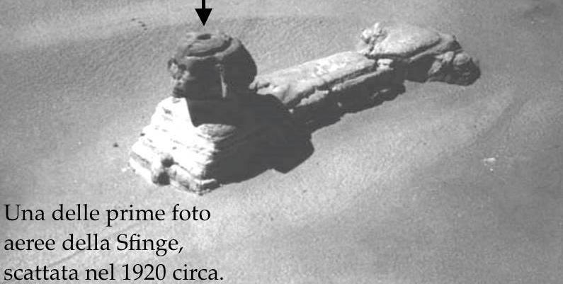 PIANA DI GIZA UNA BOTOLA SULLA SFINGE 1920
