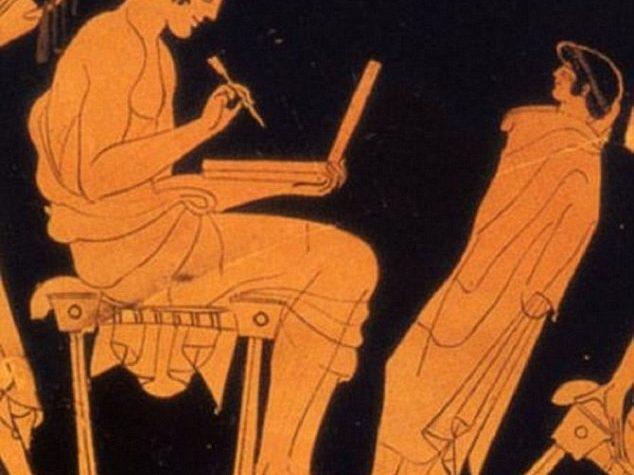 PORTATILE IN UNA STATUA GRECA OOPARTS?