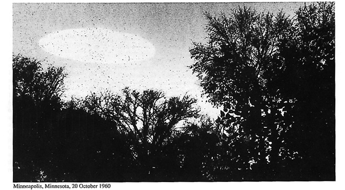 RESI PUBBLICI DALLA CIA 1000 X-FILES SUGLI UFO minneapolis minnesota 20 ottobre 1960