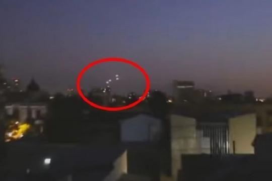 SANTIAGO DEL CILE FLOTTILLAS UFO 15 DICEMBRE 2015