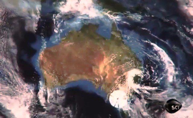 STRANE SPIRALI SULL' AUSTRALIA IL 17 FEBBRAIO 2015