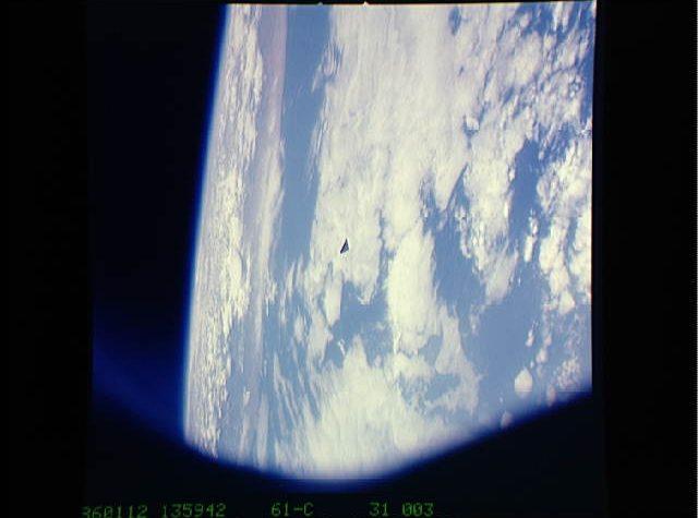 SORPRESE DAGLI ARCHIVI NASA FOTO UFO 1986