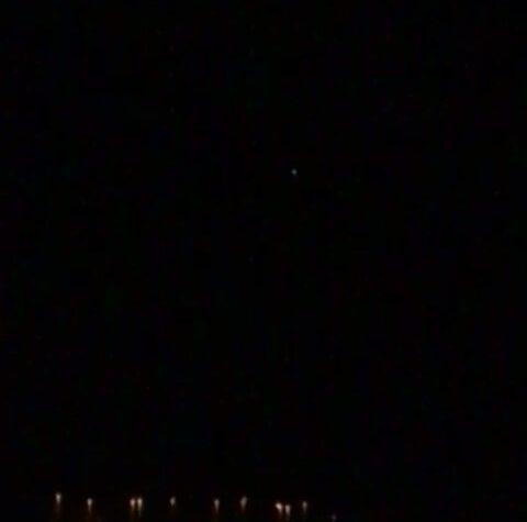 PALERMO UFO AVVISTATO IL 5 DICEMBRE 2020