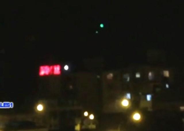 TRE UFO RIPRESI IN PERU' IL 27 APRILE 2015 magdalena foto 2