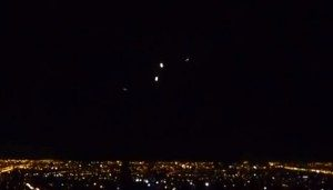 SANTIAGO DEL CILE AVVISTAMENTO UFO 18.12.2012