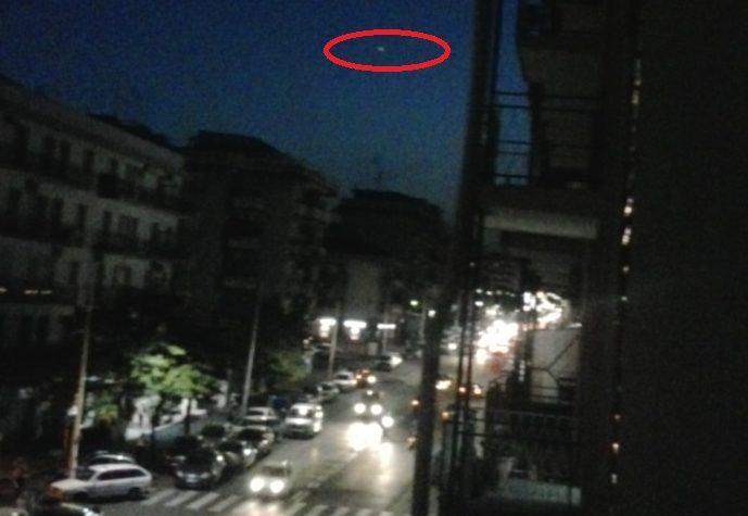 CATANIA UFO RIPRESO IL 5 SETTEMBRE 2013