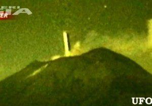 UFO ENTRA NEL VULCANO POPOCATEPETL 25 OTT. 2012