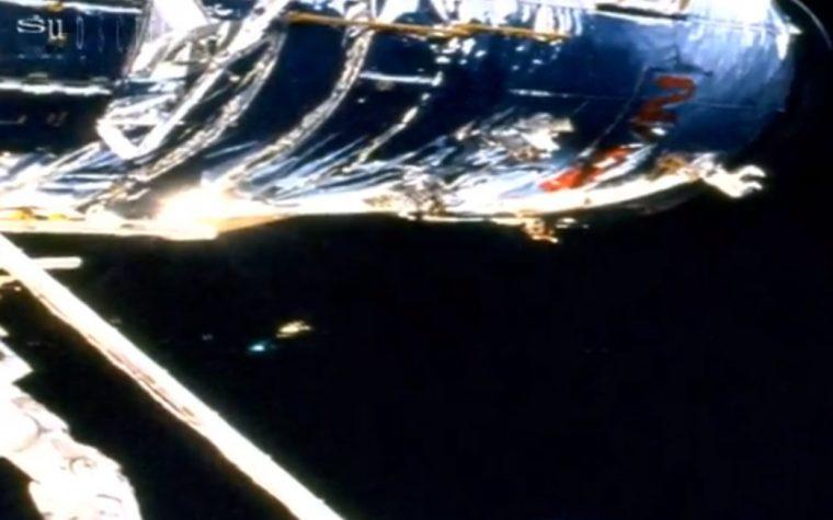 AVVISTAMENTO UFO DALLA I.S.S. 10.11.2012