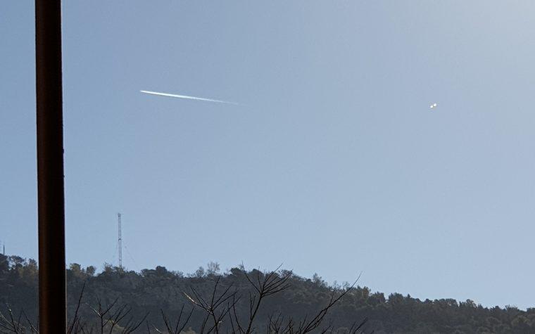 PALERMO POSSIBILE UFO 18 MARZO 2019