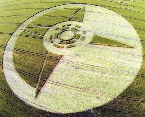 cerchio nel grano repubblica ceca Boskovic il 28 giugno 2014  foto 2
