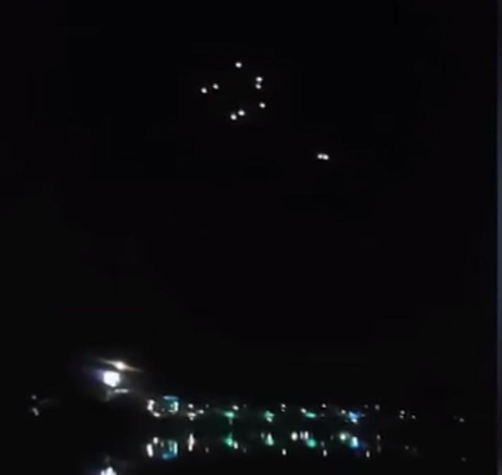 FLOTTILLAS UFO IN THAILANDIA IL 20 APRILE 2014