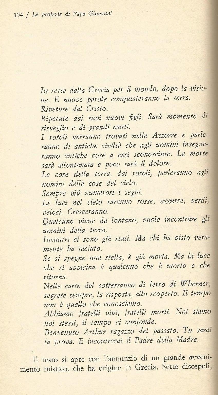 PAPA GIOVANNI XXIII E LE SUE PROFEZIE papa giovanni XXIII PROFEZIA 2