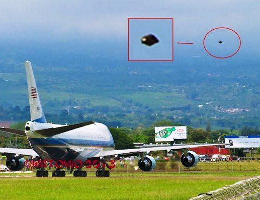 DRONE O UFO AVVISTATO IN COSTA RICA DURANTE VISITA DI B. OBAMA