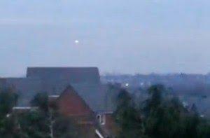 INGHILTERRA AVVISTAMENTO UFO 12 GENNAIO 2013