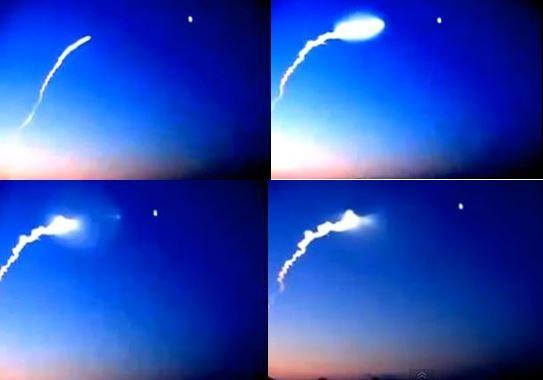 POSSIBILE MISSILE CONTRO UFO IN GIAPPONE