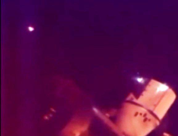 AVVISTAMENTO UFO DELLA I.S.S. 24 APRILE 2014
