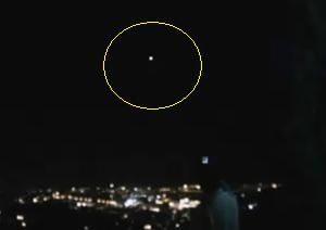 GERUSALEMME AVVISTAMENTO UFO 28.01.2011