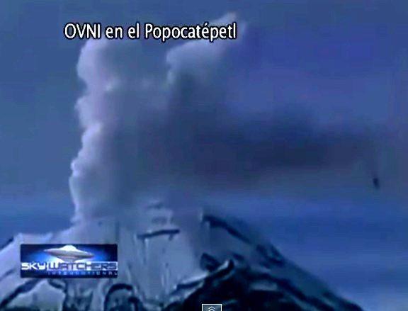 AVVISTAMENTO UFO SUL POPOCATEPETL 09 GIUGNO 2014